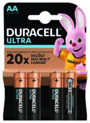 4_x_patarei_Duracell_Ultra_Powercheck_LR6_AA_blister